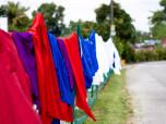 Ogrē par veļas žāvēšanu uz balkona var saņemt 350 eiro sodu