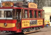 Retro tramvaju sagatavo jaunajai sezonai. FOTO un VIDEO!