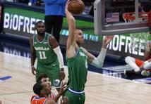 "Dribls, lidojums un nagla ""Thunder"" grozā - Porziņģis iekaro NBA TOP 10"