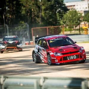 "TIEŠRAIDE: ""RallyX Nordic"" 4.posms Biķerniekos"
