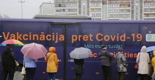 """""""Lokdauna"""" ievieša nav ietekmējusi vakcinācijas pret Covid-19 aktivitāti"""