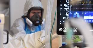 Stacionēto Covid-19 pacientu skaits strauji tuvojas 1400 atzīmei