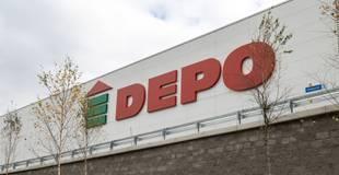 """""""Depo DIY"""" """"lokdauna"""" laikā prognozē vairāk nekā piecu miljonu eiro lielus zaudējumus"""