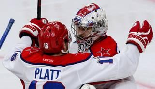 KHL marta izcilnieki - Sorokins, Deņisovs un Mozjakins