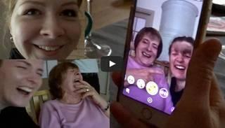 "Interneta hits: latviešu omītes izmēģina ""Snapchat"" foršos filtrus"