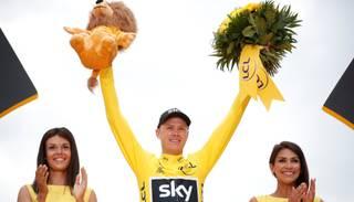 "Frūms ceturto reizi piecos gados triumfē ""Tour de France"" velobraucienā"