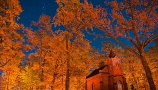 Fantastiski fotomirkļi: zelta rudens Alūksnē