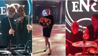 "Tenisa zvaigzne Ostapenko savas halles atklāšanā bungo ""Despacito"" hitu"