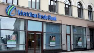 "FKTK ar 455 822 eiro soda ""Meridian Trade Bank"""