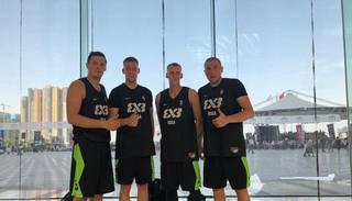 Latvijas 3×3 basketbolisti izcīna Pasaules tūres posma sudraba medaļas