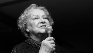 Mūžībā aizsaukta aktrise Helga Dancberga