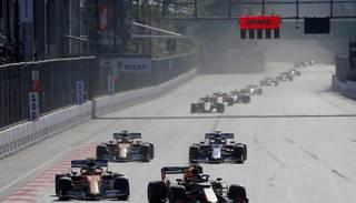 "F1 pārceļ jūnijā gaidāmo Azerbaidžānas ""Grand Prix"""