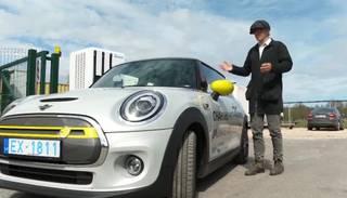 """Sporta verķītis, kas provocē ātri braukt""; ""Zebra"" testē ""MINI Electric"""
