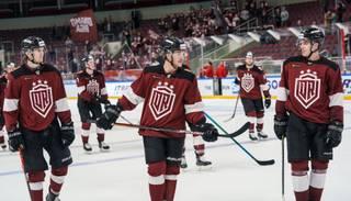 """Neftekhimik"" hokejistiem septiņi pozitīvi Covid-19 testi; spēle ar Rīgas ""Dinamo"" pārcelta"