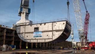 "Dzimis ""Tallink Grupp"" ātrgaitas un videi draudzīgais kuģis ""Tallink MyStar"""