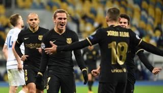 """Barcelona"" Kijevā pārliecinoši uzvar ""Dynamo"""