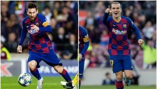 "Incidenta video: ""Barcelona"" fani aplenc Grīzmana auto un pieprasa respektēt Mesi"