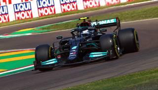 Botass ātrākais sezonas otrā posma pirmajos divos treniņos