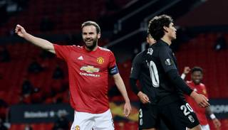 """AS Roma"", ""Manchester United"", ""Arsenal"" un ""Villarreal"" sasniedz UEFA Eiropas līgas pusfinālus"