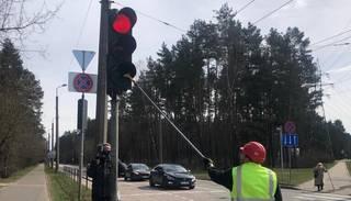 "Vasaras sezonai ""gatavojas"" luksofori Rīgā"
