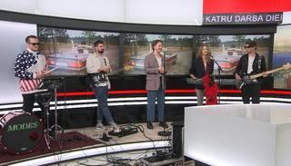 """Hanzas peronā"" gaidāms grupas ""Rīgas Modes"" koncerts"