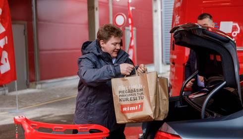 """Rimi Latvia"" atklāj e-veikalu un Baltijā pirmo ""Rimi Drive"""