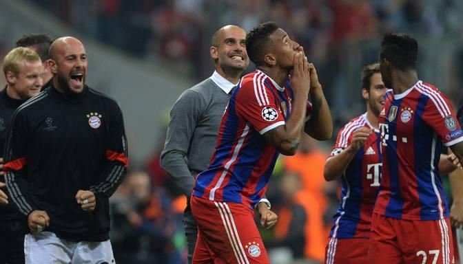 "VIDEO: ""Bayern"" aizsargs Žeroms Boatengs gūst uzvaras vārtus mačā ar "" Manchester City """