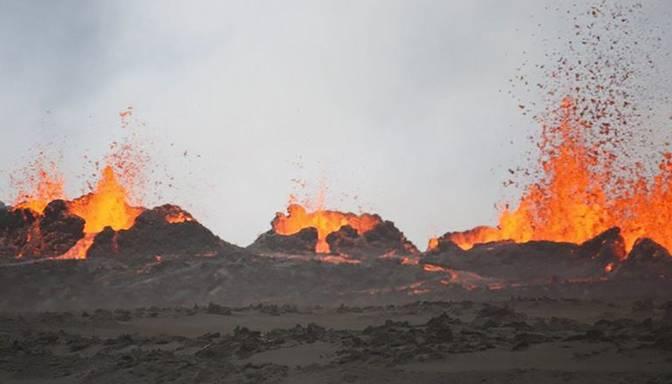 Islande gatavojas vulkāna izvirdumam