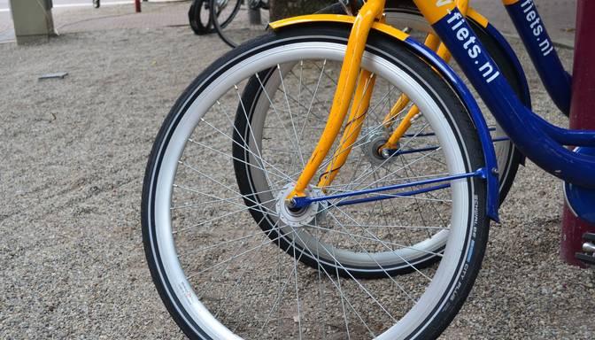 "Zagli ar ""nosperto"" velosipēdu notver uz ielas"