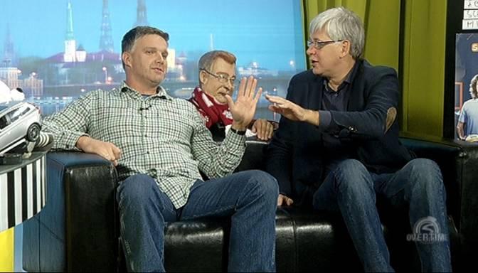 Overtime TV: divi aktieri – Uldis Dumpis un Kaspars Kambala