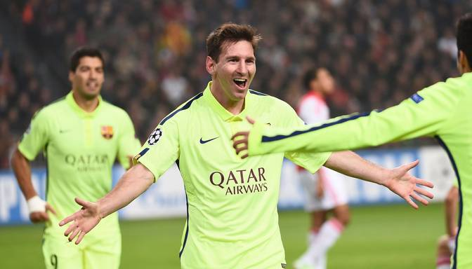 Čempionu līgā Barcelona vēlreiz uzvar, Mesi noķer Raulu