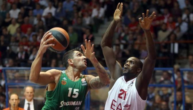 Eirolīgas C grupā zaudējumus piedzīvo Panathinaikos un Barcelona