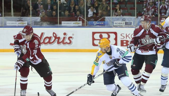 Rīgas Dinamo tiekas ar Maskavas apgabala Atlant