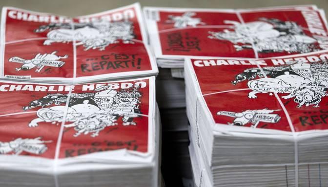 Kioskos atgriežas Charlie Hebdo satīras žurnāls
