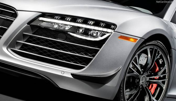 Audi atklāj lāzera lukturus jaunajam R8