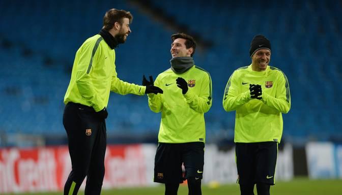 UEFA Čempionu līgā Agvero Manchester City tiksies ar Mesi Barcelona
