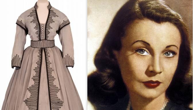 Skārletas O'Hāras kleita izsolīta par 137 000 dolāru