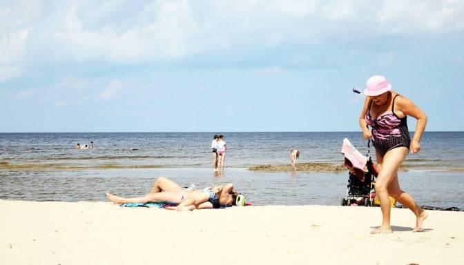 Liepājnieki jau gatavojas pludmales sezonai
