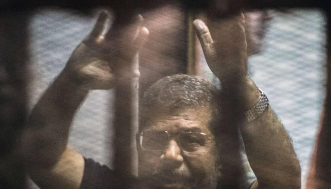 Gāztajam Ēģiptes prezidentam piespriež nāvessodu