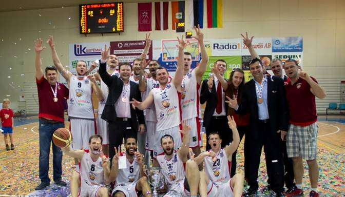 Jēkabpils basketbolisti mača galotnē izcīna LBL bronzu