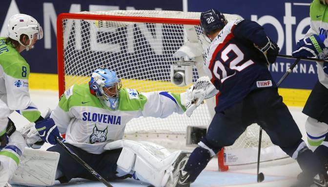 Slovākija mača izskaņā izrauj uzvaru pār Slovēniju