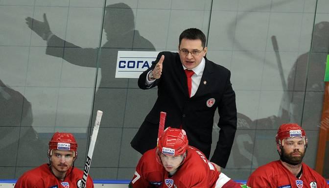 Skandalozais Nazarovs kļuvis par KHL čempiones SKA galveno treneri