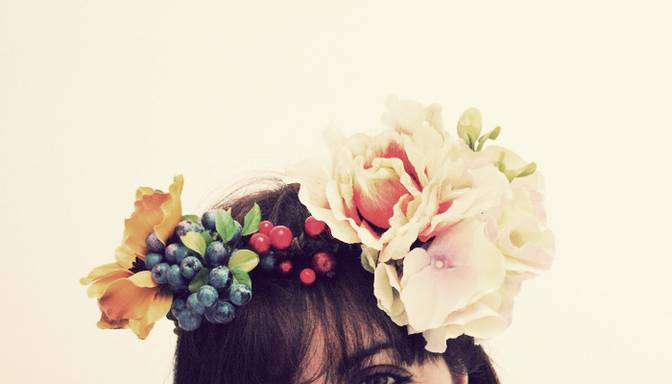 Ziedu kronis īstai vasaras karalienei