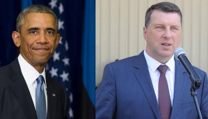Vējonis nosūta vēstuli ASV prezidentam Obamam