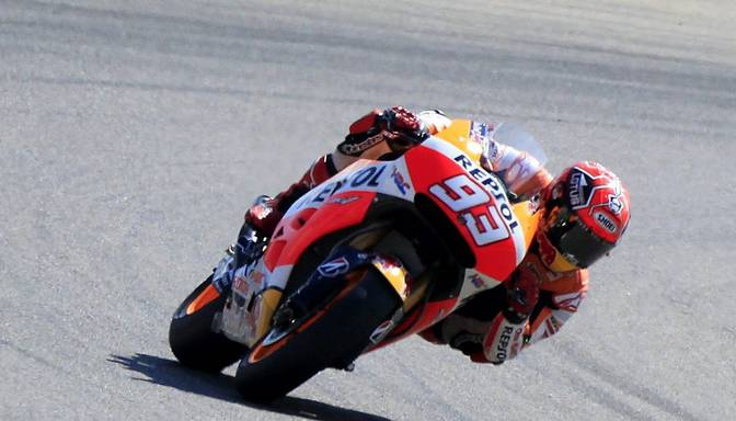 MotoGP pasaules čempionam Markesam smaga trauma – delnas kaula lūzums
