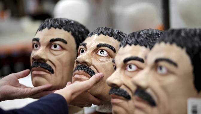 Narkobarons kļuvis par Helovīna hitu Meksikā