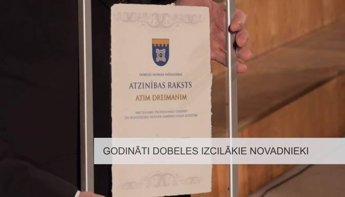 Godināti Dobeles izcilākie novadnieki