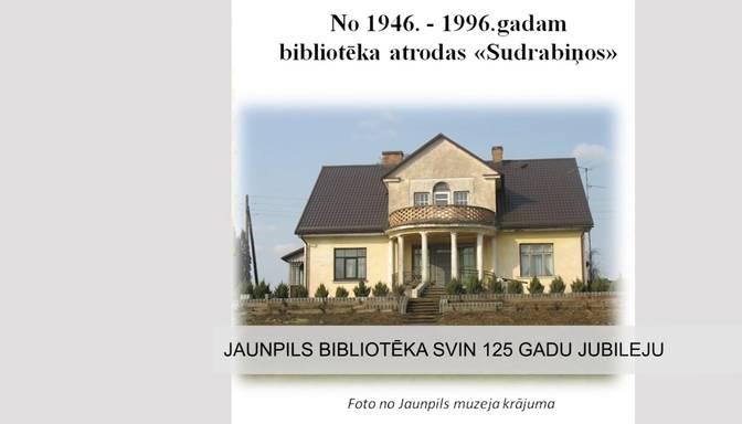 Jaunpils bibliotēka svin 125 gadu jubileju