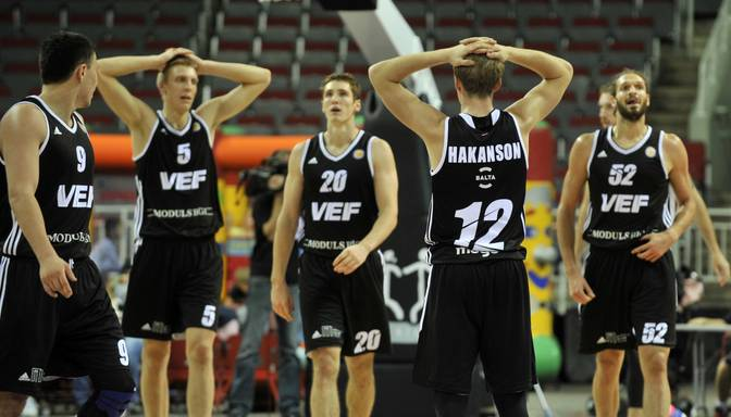 VEF Rīga basketbolisti cieš zaudējumu pret Saratovas Avtodor
