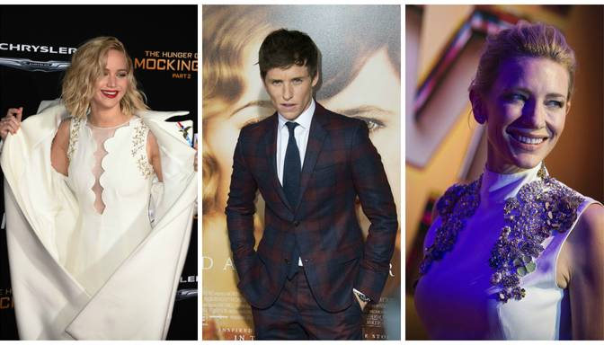 Izskan prognozes, kuras kinozvaigznes iegūs Zelta Globusus